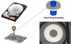 HDD 모터용 Ceramic Plate