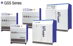 Airplus oil injected screw compressors