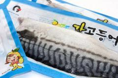 유자네 간고등어 노르웨이산 5kg (24~28팩)