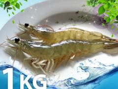 친환경새우 1kg (40미)