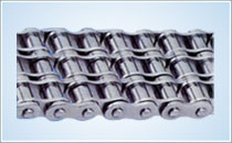 Triple strand chain