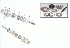 M5X 130/180 series swing motors
