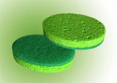 셀룰로즈수세미(타원/녹색)