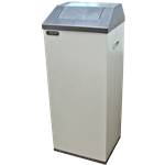 뱅뱅이뚜껑 쓰레기통 (70L) STC-750A