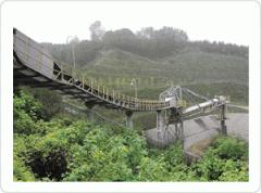 Pipe Belt Conveyor/파이프 벨트 컨베이어