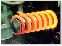 열간 코일 스프링/Hot wound coil spring