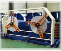 Fin Tube Welding Machine/ Uncoiler / 언코일러 / 되감기 장치