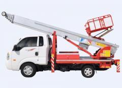 Ladder-Lift Truck Horyong PE 250 South Korea