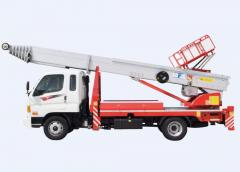 Ladder-Lift Truck Horyong PE 450 South Korea