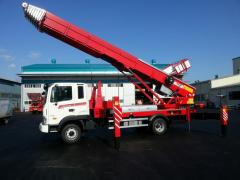 Ladder-Lift Truck Horyong PE 640 South Korea
