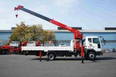 Cargo Crane Horyong HRS217 South Korea