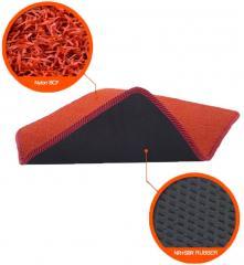 Moisture-absorbing car mats