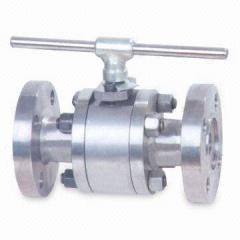 API 598 Forged Floating Ball Valve, Butt Welded