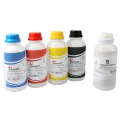 Сольвентные чернила для прямой печати на плоскопечатных принтерах