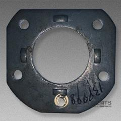 Steel spindle flange hardware stamping SAE 1020