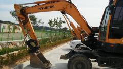 Экскаватор  HYUNDAI -R55WI