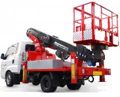 ATOM 320 Korean Truck Mounted Aerial Work Platform