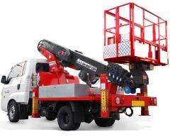 ATOM 180 Truck Mounted Aerial Work Platform