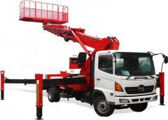 [ATOM 320] Korean Truck Mounted Aerial Work