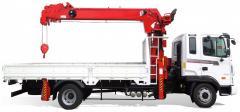 [ATOM 344 truck crane] 3 ton Korean truck crane