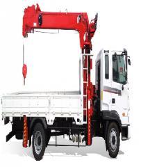 [ATOM 5 ton truck crane] Korean 5 ton lorry crane truck