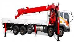 [ATOM 1616 truck crane] Korean 15 ton lorry crane truck