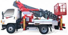 [ATOM 250] Korean Truck Mounted Aerial Work Platform