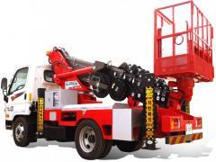 [ATOM 230] Korean Truck Mounted Aerial Work Platform