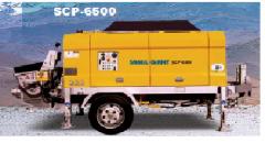 Scp6500 stationary pump  (samil concrete pump car)