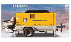 Scp8500 stationary pump  (samil concrete pump car)