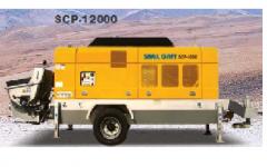 Scp12000 stationary pump  (samil concrete pump car)
