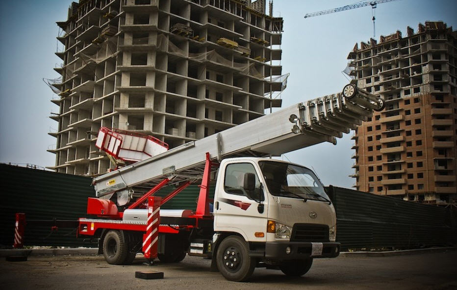 ladder_lift_truck_horyong_pe_450_south_korea