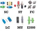 Fiber Optic Adapters,  SC | ST | FC | LC | MU | E2000 | DIN | Hybrid