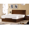 침대, DF708 카살라 천연무늬목 평상형 침대[7존독립스프링, 퀸(Q)]