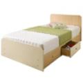침대, 밀키우드 수납침대