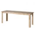 책상, 삼나무 원목 일자 책상