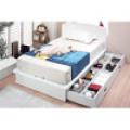 침대, 838 빅와이드 멀티서랍형 침대[스프링, 싱글(S)]