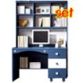 책상세트, 블루블루 전면책상세트
