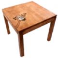 테이블, 정사각 우드테이블-신지가토 코알라