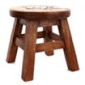 의자, 우드스툴-경비행기 (25x25x25)
