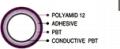 플라스틱 전도층 4-layer 튜브 PBT