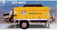 Scp6500 stationary pump  (samil concrete pump car)