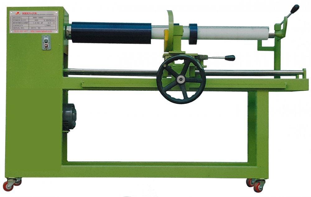 신청 Manual Roll Cutting Machine(circular blade) 지관컷팅기